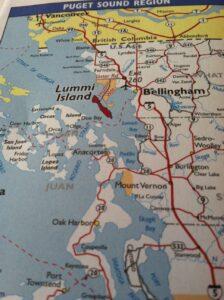 Where is Lummi Island