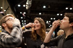 Oysters Shooters at Taste Washington