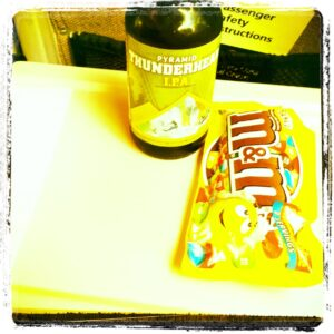 My usual train snack.