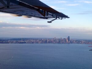 Seattle From a Float Plane