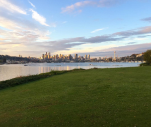 The Seattle skyline as seen from Gas Works Park Photo: Kristin Gillespie