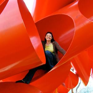 Alexander Liberman's 'Olympic Iliad' sculpture