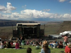 Sasquatchmainstage/ Blue Skies & Hillside at Sasquatch's Main Stage photo credit: Anne Lundquist