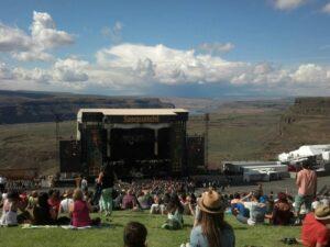 Sasquatchmainstage/ Blue Skies & Hillside at Sasquatch's Main Stage photo credit: Anne Lundquist