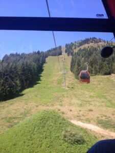 Gondola at Crystal Mountain Resort