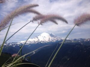 Mount Rainier from Crystal Mountain Resort