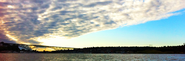 Looking toward the Ship Canal from Lake Union