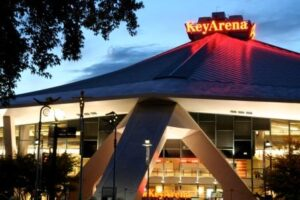 KeyArena hosts the 2013 NCAA Division 1 Vollyball Championships in December.