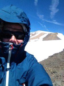 On Piker's Peak - photo by Danielle Decker