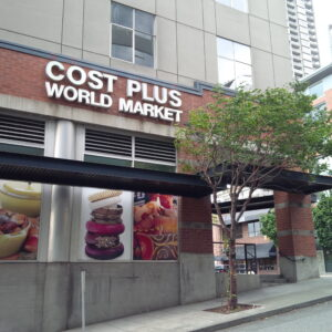Cost Plus in Downtown Seattle. Photo by Joan Magnano-Damm.