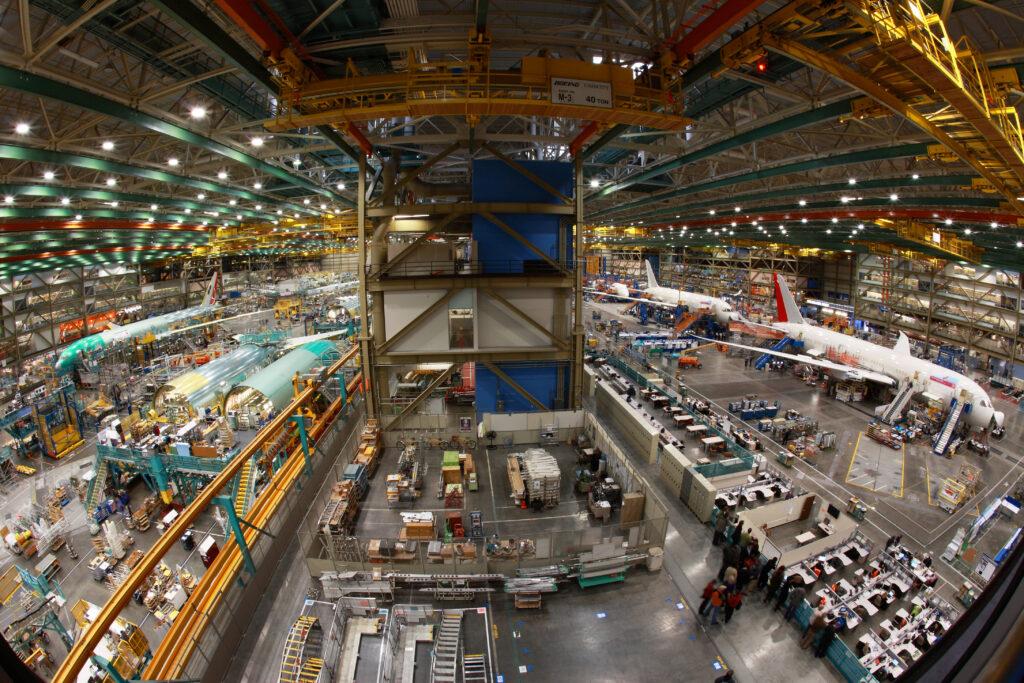 Boeing Tour