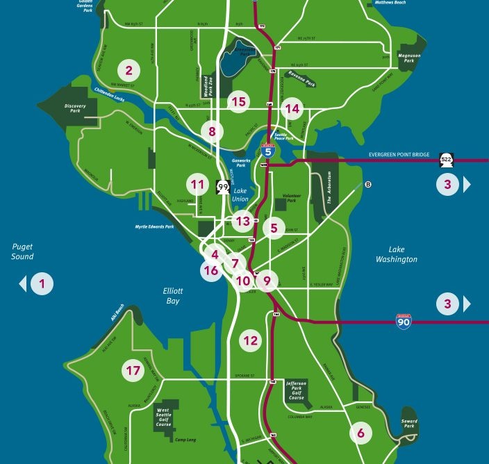 Best Places To Stay Near Seattle Wa: Visit Seattle