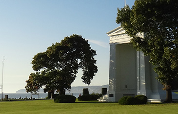 Peace Arch at Blane, Washington