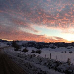 Winthrop Sunset