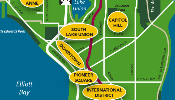 Maps and Guides – Tourist Attractions Map In Seattle