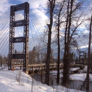 Spring Creek Pedestrian Bridge