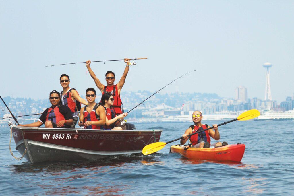 Alki Kayak Tour Photo: Erika Kim
