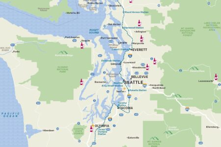 Seattle City Map Maps | Visit Seattle Seattle City Map