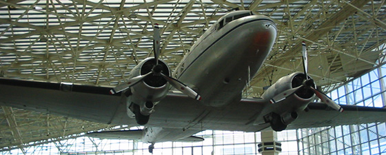 DC-3 at The Museum of Flight