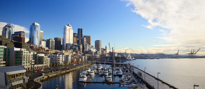 Waterfront visit seattle for Emerald city nickname