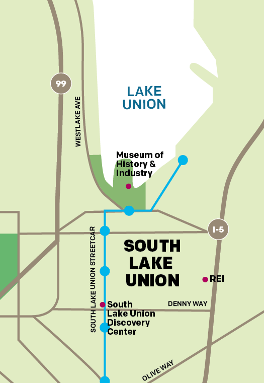 South Lake Union Walkable Waterfront Visit Seattle