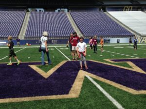 Rowyn and husky stadium