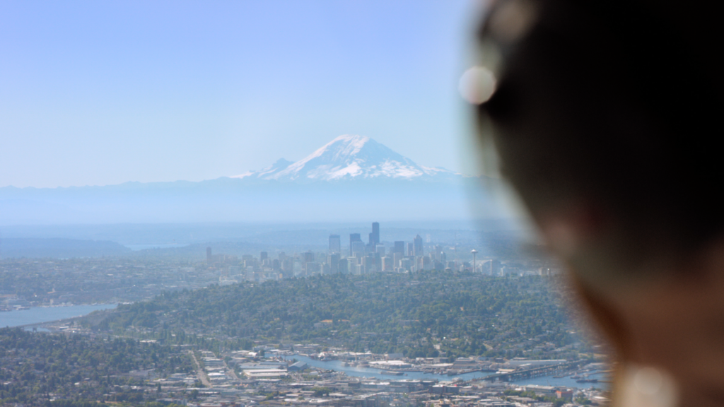 """Visit Seattle inaugurates a new web-based series """"First Takes,"""" that chronicles the sensory experiences of first-time Seattle visitors"""