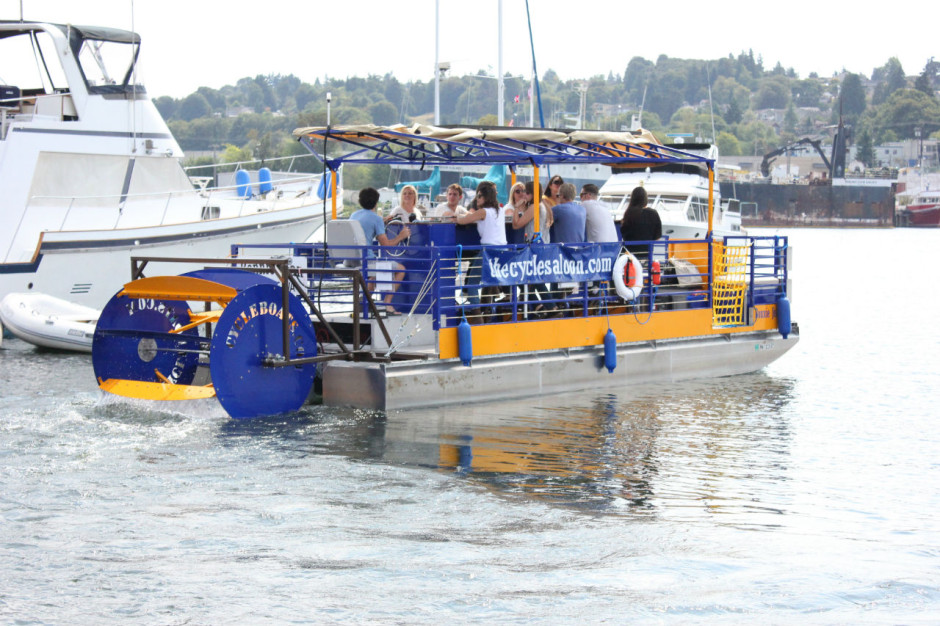 Photo: Cycle Pontoon / http://cyclepontoon.com