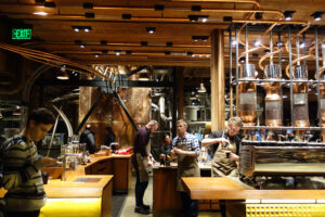 Starbucks Roastery, Omar Bárcena via Flickr Creative Commons