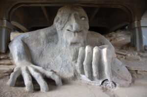 Fremont Troll, Roshan Vyas via Flickr Creative Commons