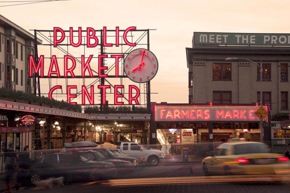 Photo: Charlie Schuck Photography, Pike Place Market