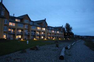 Semiahmoo Resort at Night Photo: Min Guo