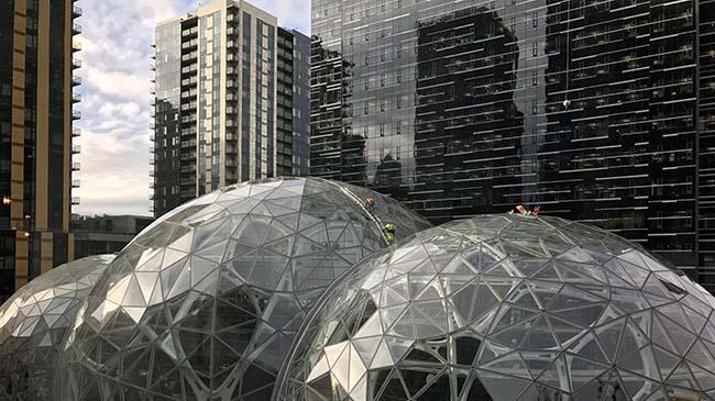 Amazon HQ, Downtown Seattle Nick Hawley