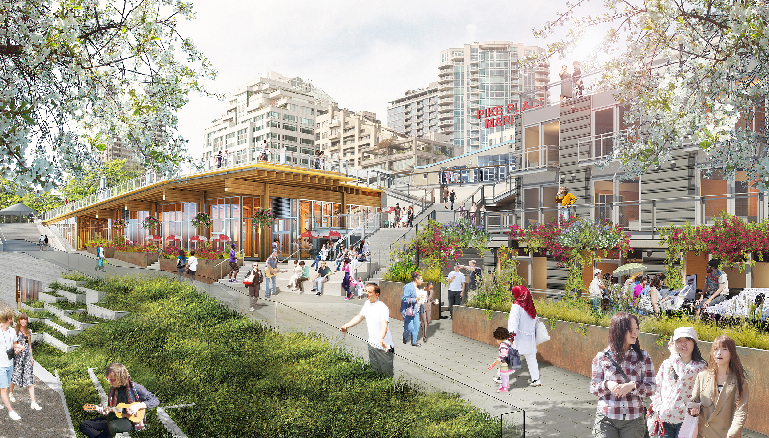 Pike Place Market Expansion Miller Hull Partnership
