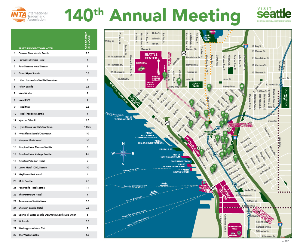How to Get the Most Out of 140th Annual Meeting INTA Conference 2018 ...