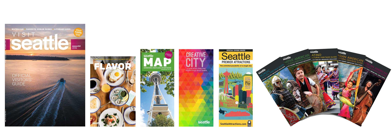 brochures visit seattle