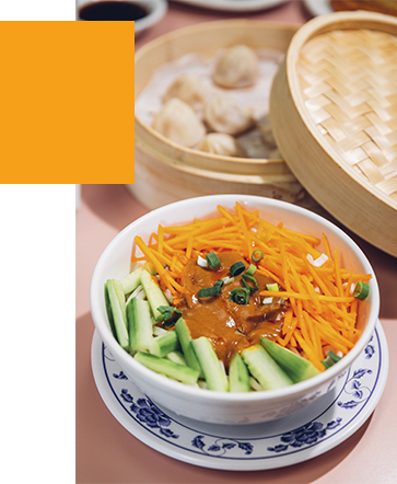 Noodles and dumplings at Szechuan